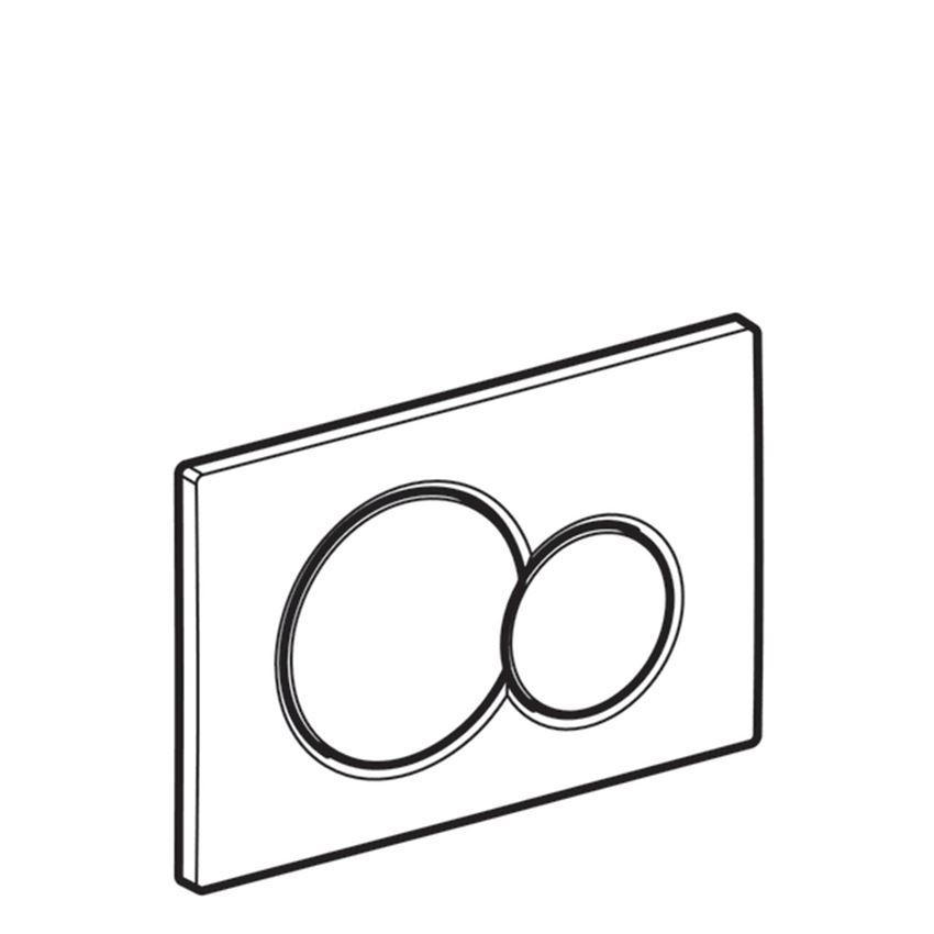 Przycisk uruchamiający przedni Geberit Sigma
