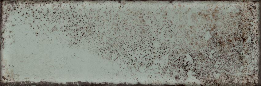 Płytka ścienna 23,7x7,8 cm Tubądzin Curio green mix B STR