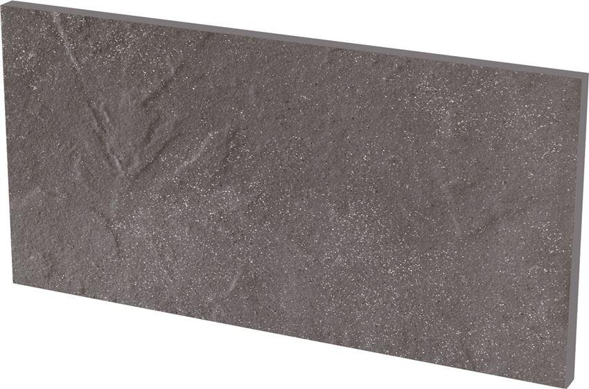 Płytka stopnicowa 14,8x30 cm Paradyż Taurus Grys Podstopnica