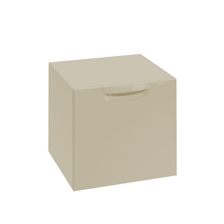 Szafka wisząca lakier piaskowy połysk 45,1x39x42,8 cm Defra Flou