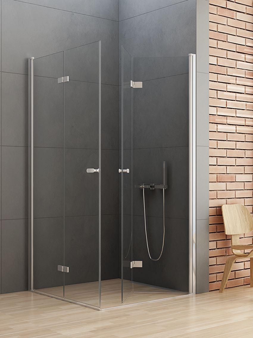 Kabina New Soleo z drzwiami składanymi uchylnymi