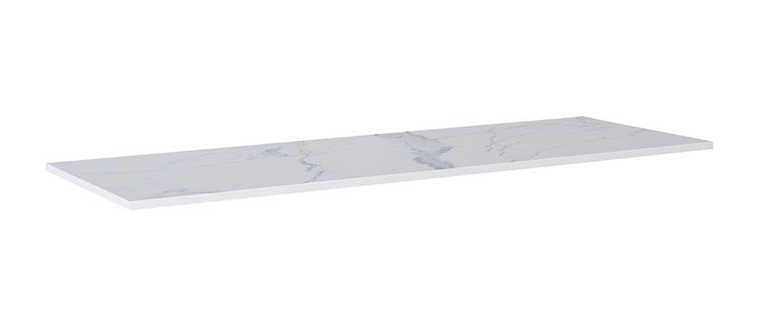 Blat naszafkowy pełny 190 cm Elita ElitStone MARMUR CALACATTA WHITE MATT
