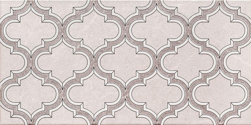 Dekor ścienny 44,8x22,3 cm Domino Braid grey