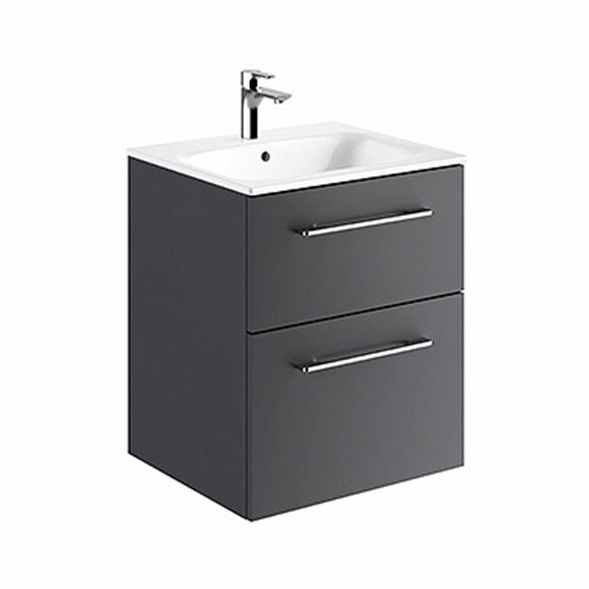 Zestaw meblowy umywalka 55 cm + szafka Koło Nova Pro Premium