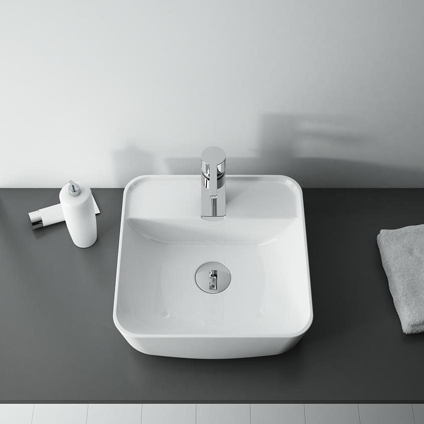 Umywalka stawiana na blacie 39x39 cm Elita Tonia