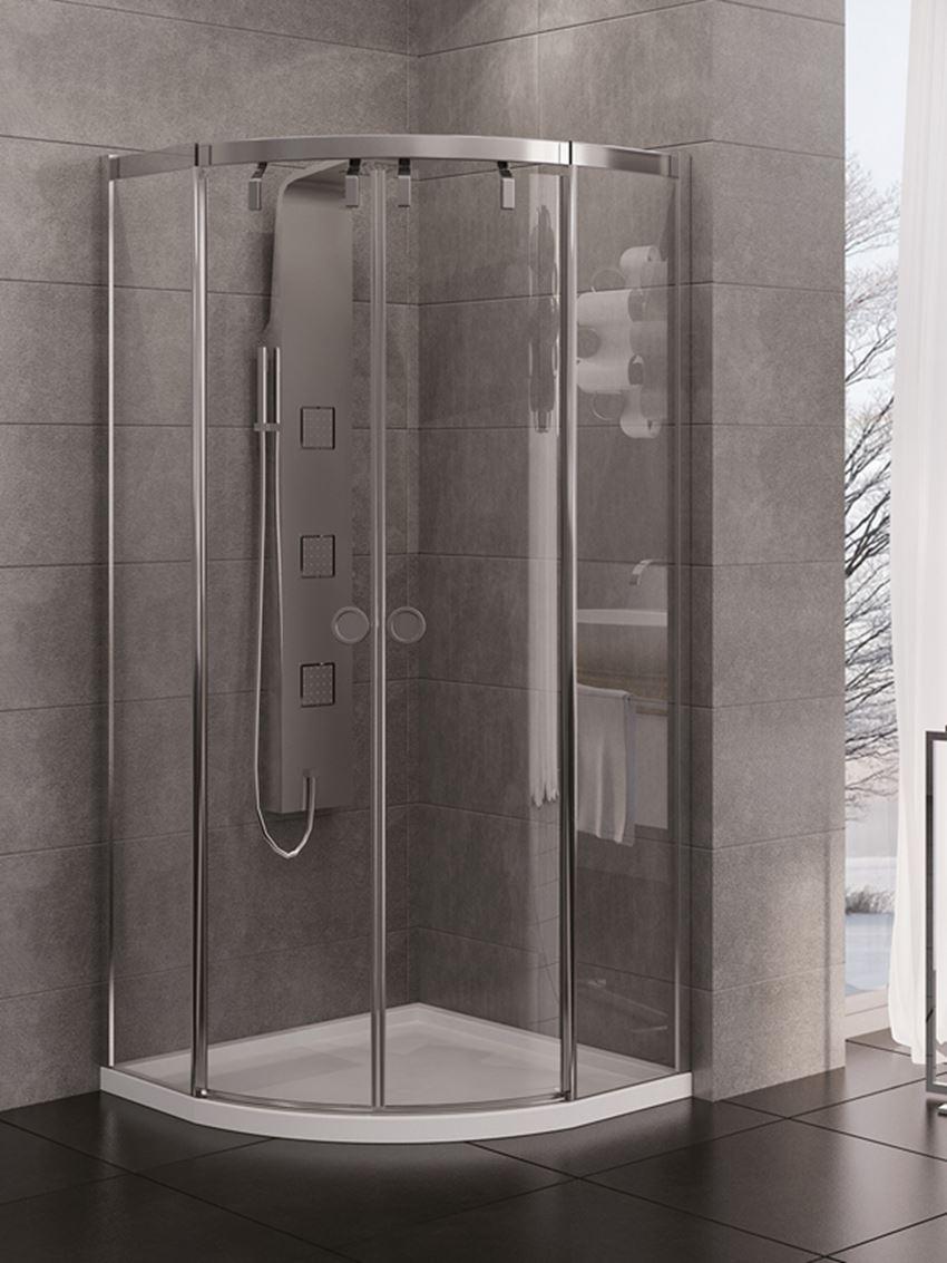 Kabina prysznicowa półokrągła New Trendy Porta