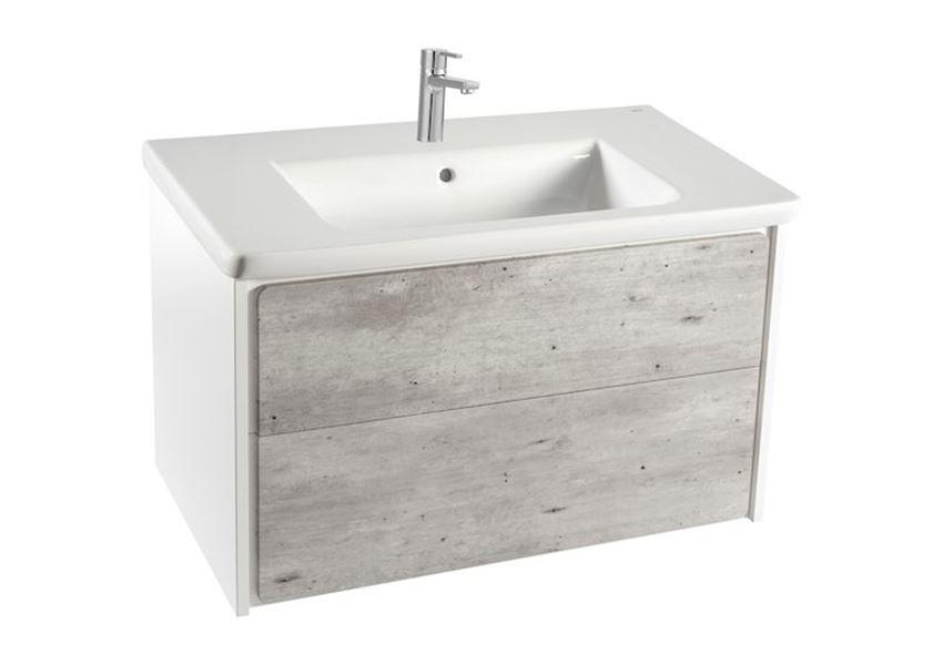 Zestaw łazienkowy Unik z 2 szufladami 80x41,2x48 cm Roca Ronda
