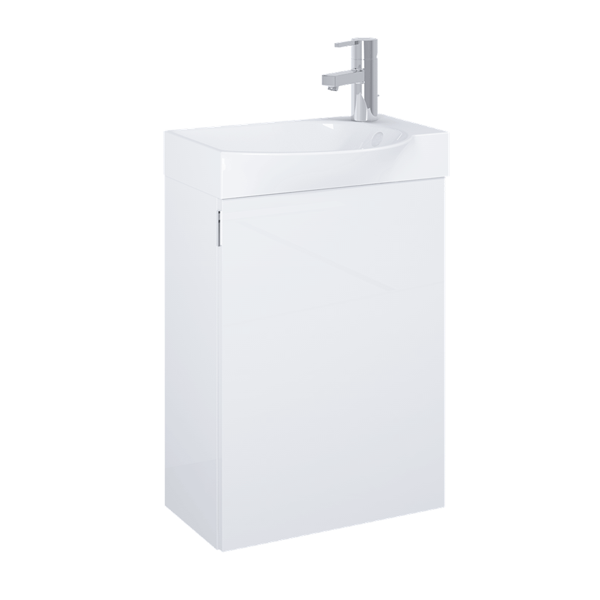 Szafka z umywalką 45 cm Elita Ravell White