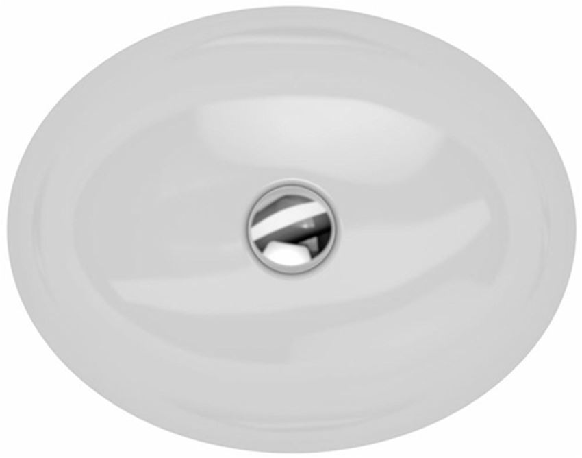 Umywalka podblatowa owalna 42x39 cm Koło VariForm