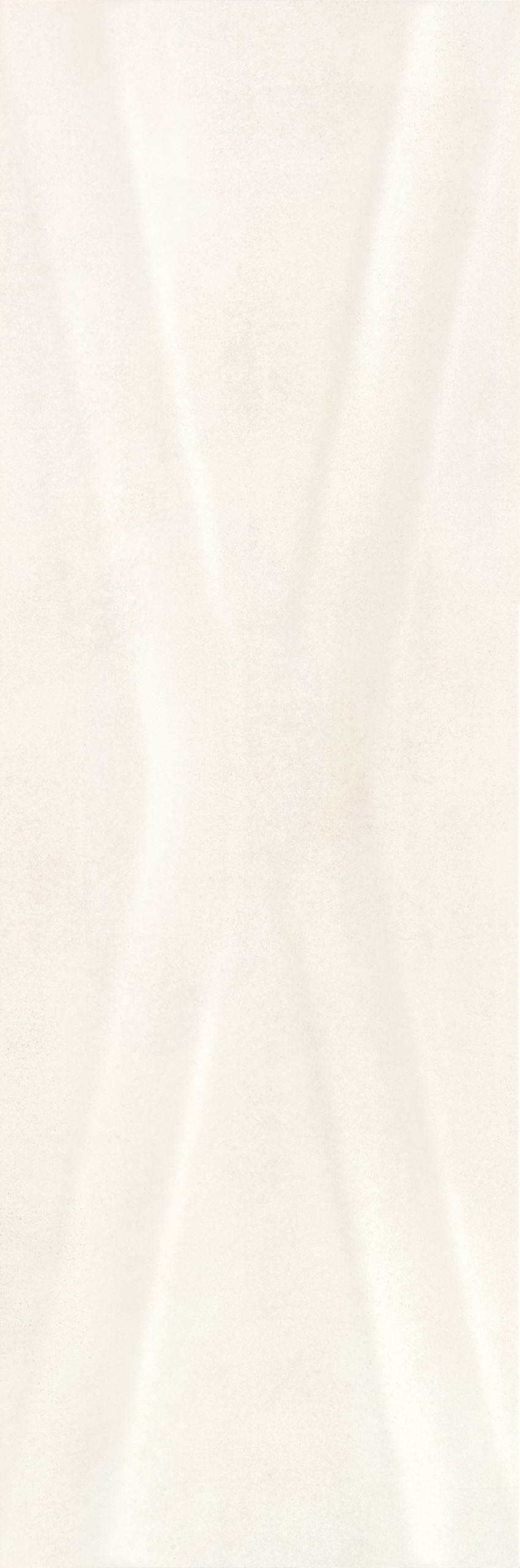 Płytka ścienna 25x75 cm Paradyż Pandora Bianco Ściana Struktura Rekt.