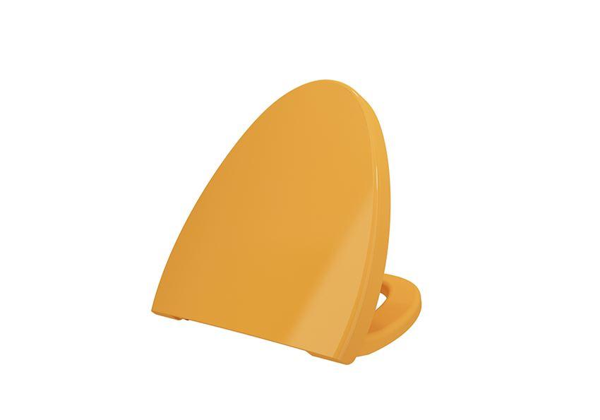 Deska WC duroplast wolnoopadająca Glossy Tangerine Bocchi Etna