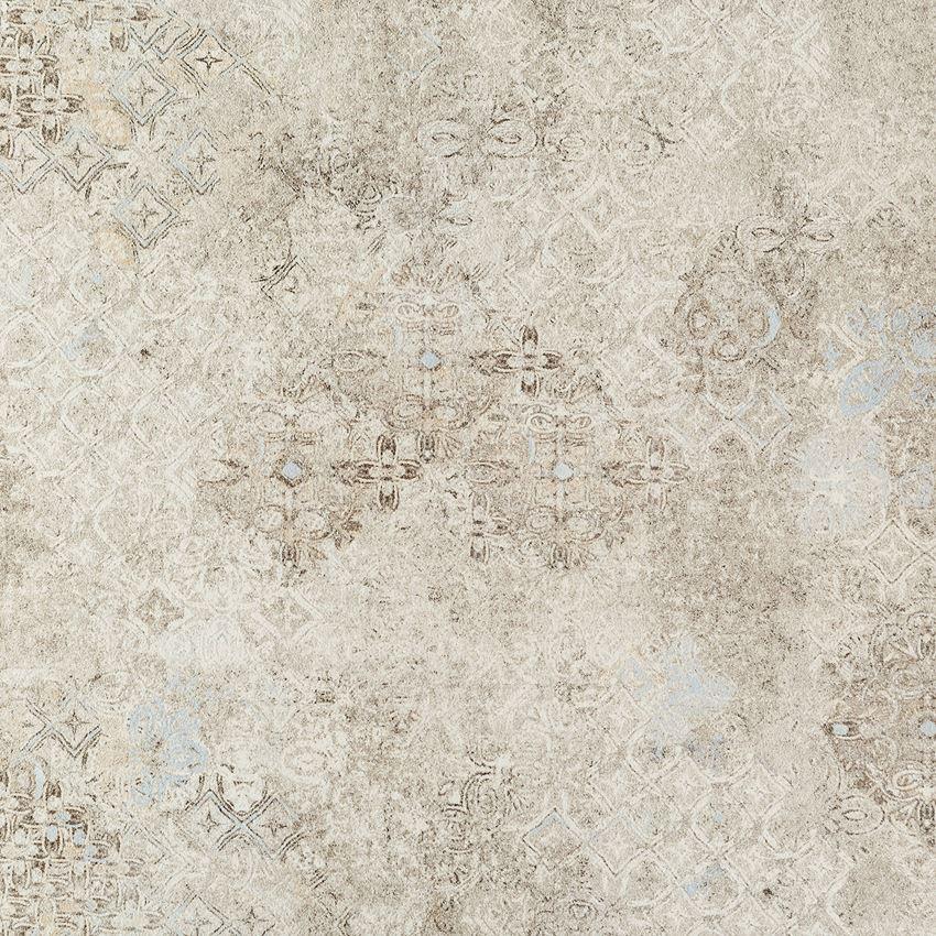 Płytka podłogowa 59,8x59,8 cm Tubądzin Grey Stain geo LAP