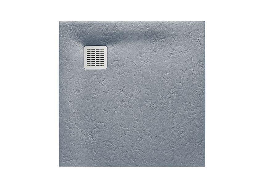 Brodzik kompozytowy STONEX® 100x100x2,8 cm, szary cement Roca Terran
