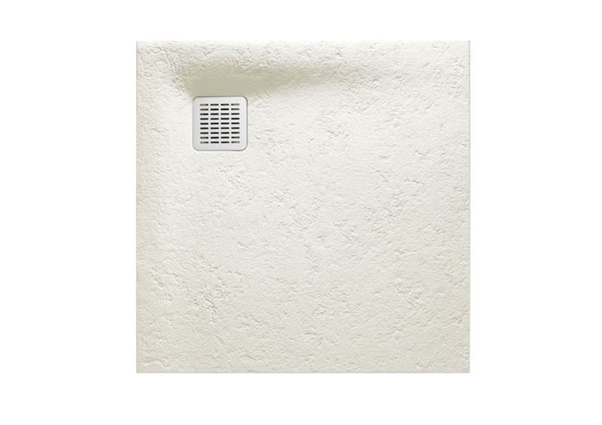 Brodzik kompozytowy STONEX® 100x100x2,8 cm złamana biel Roca Terran