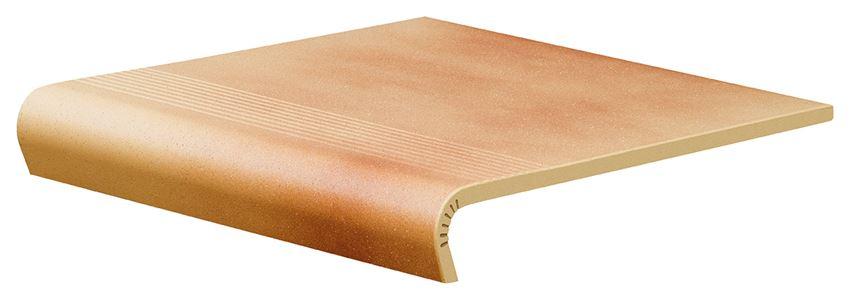 Płytka stopnicowa 30x32 cm Cerrad Jesienny Liść V-shape