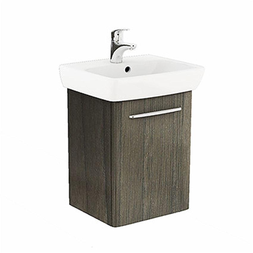 Szafka z umywalką 50 cm szary jesion Koło Nova Pro