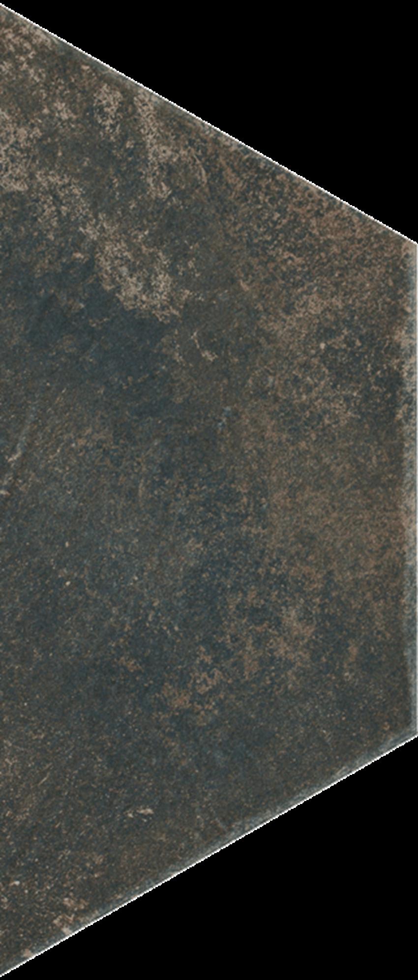 Dekoracja podłogowa 12,6x29,6 cm Paradyż Scandiano Brown Trapez