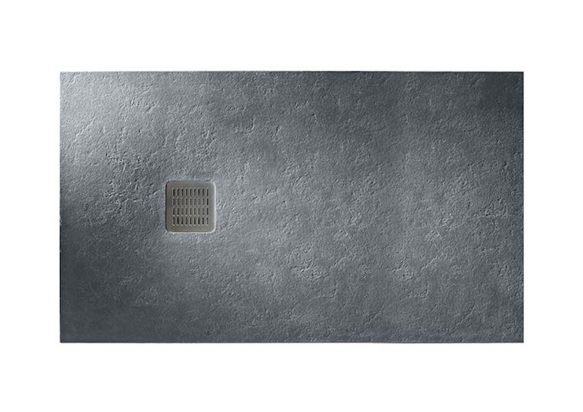 Brodzik kompozytowy STONEX® 160x90x3,1 cm szary łupek Roca Terran