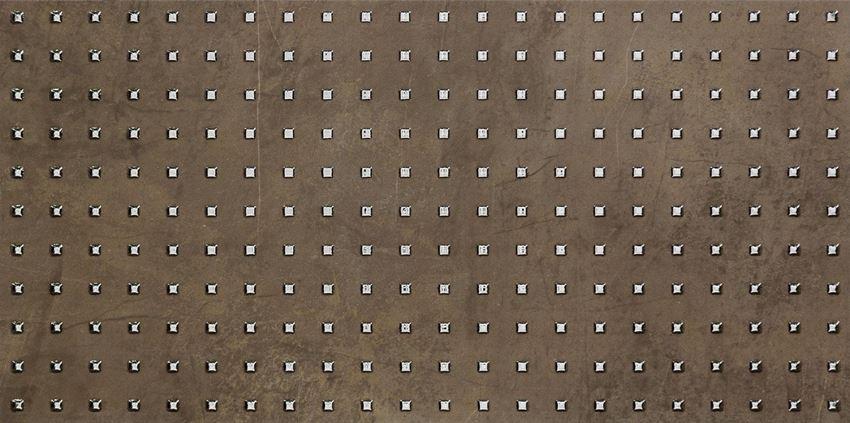 Dekor ścienny 59,8x29,8 cm Tubądzin Palacio brown