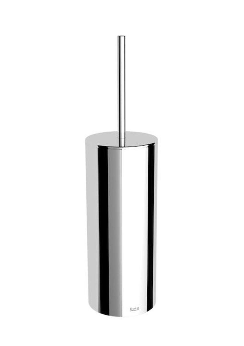 Szczotka wc metalowa stojaca, 9x9x34,6 cm Roca Victoria