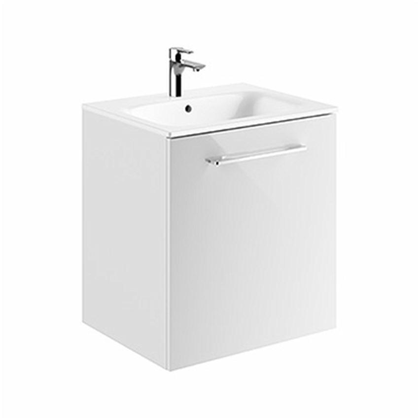 Szafka z umywalką biały połysk 60  Koło Nova Pro Premium