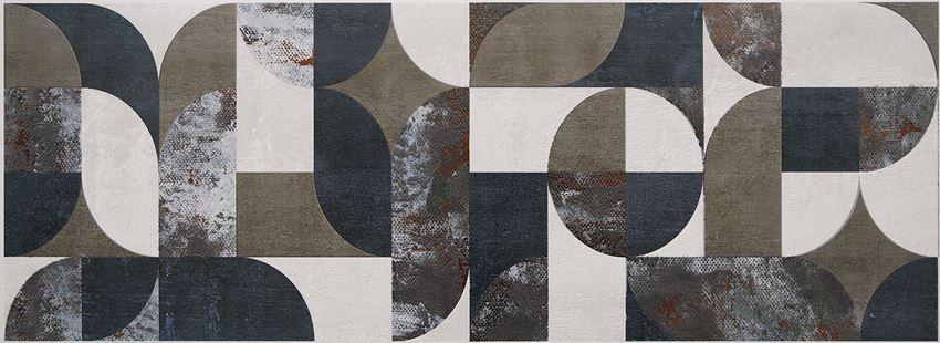 Dekor ścienny 89,8x32,8 cm Tubądzin Grunge taupe