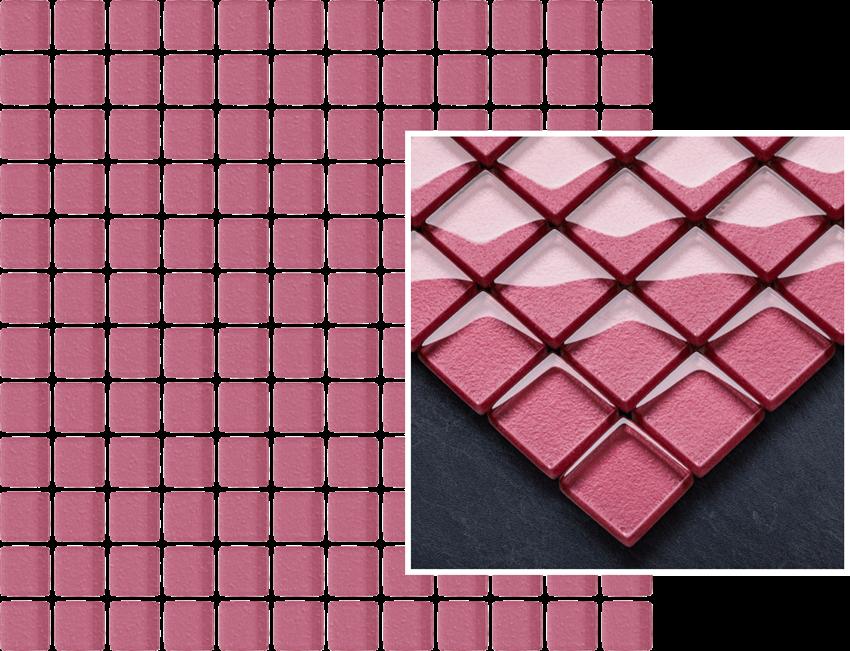 Mozaika szklana 29,8x29,8 cm Paradyż Uniwersalna Mozaika Szklana Coral