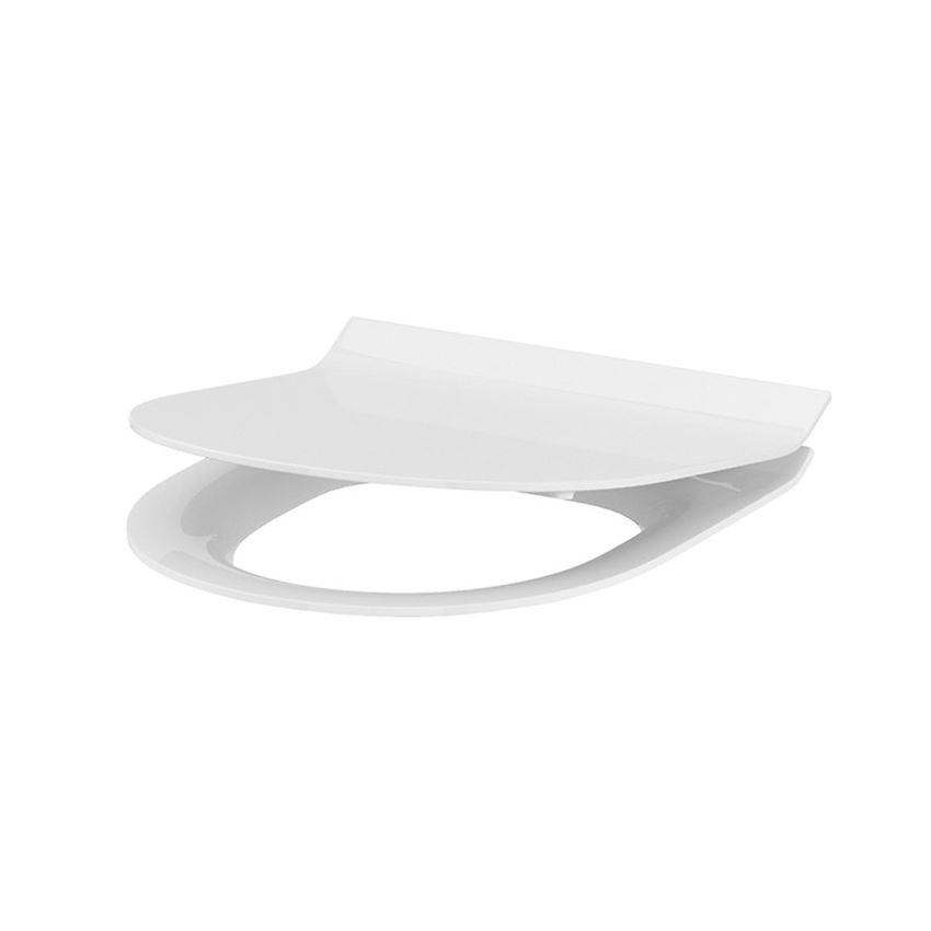 Deska toaletowa owalna 43x36,1 cm Cersanit Crea Slim