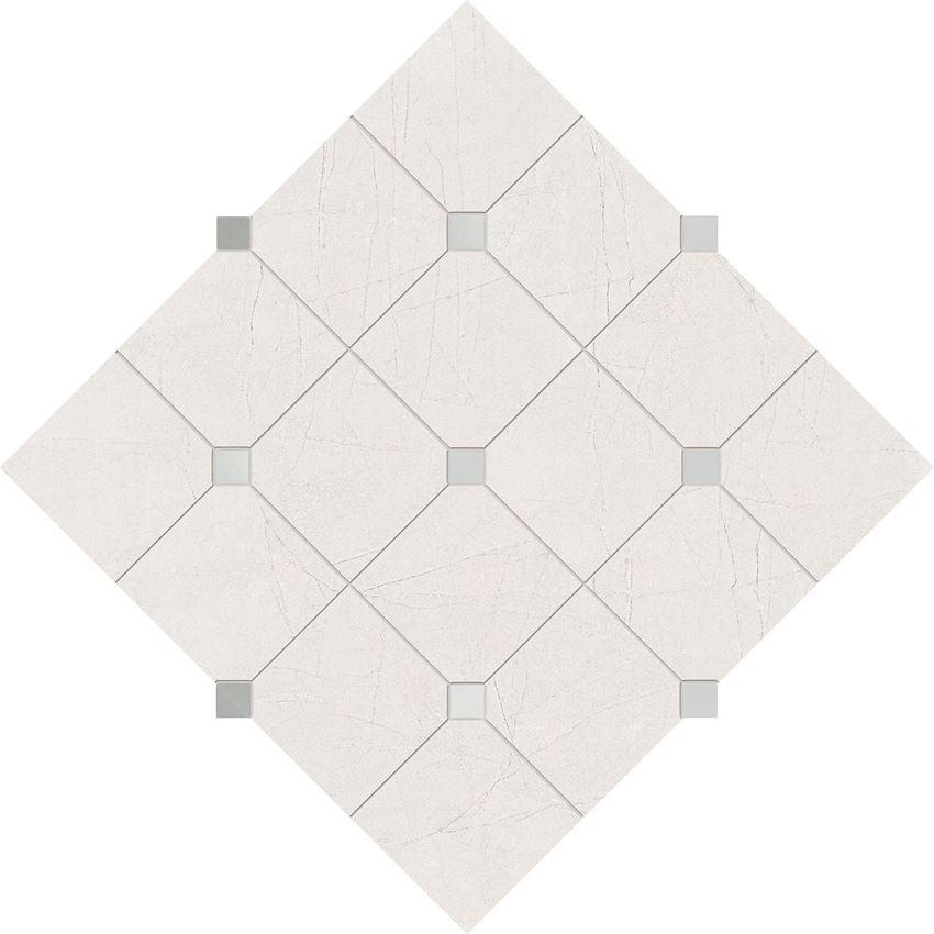 Mozaika ścienna 29,8x29,8 cm Domino Idylla White