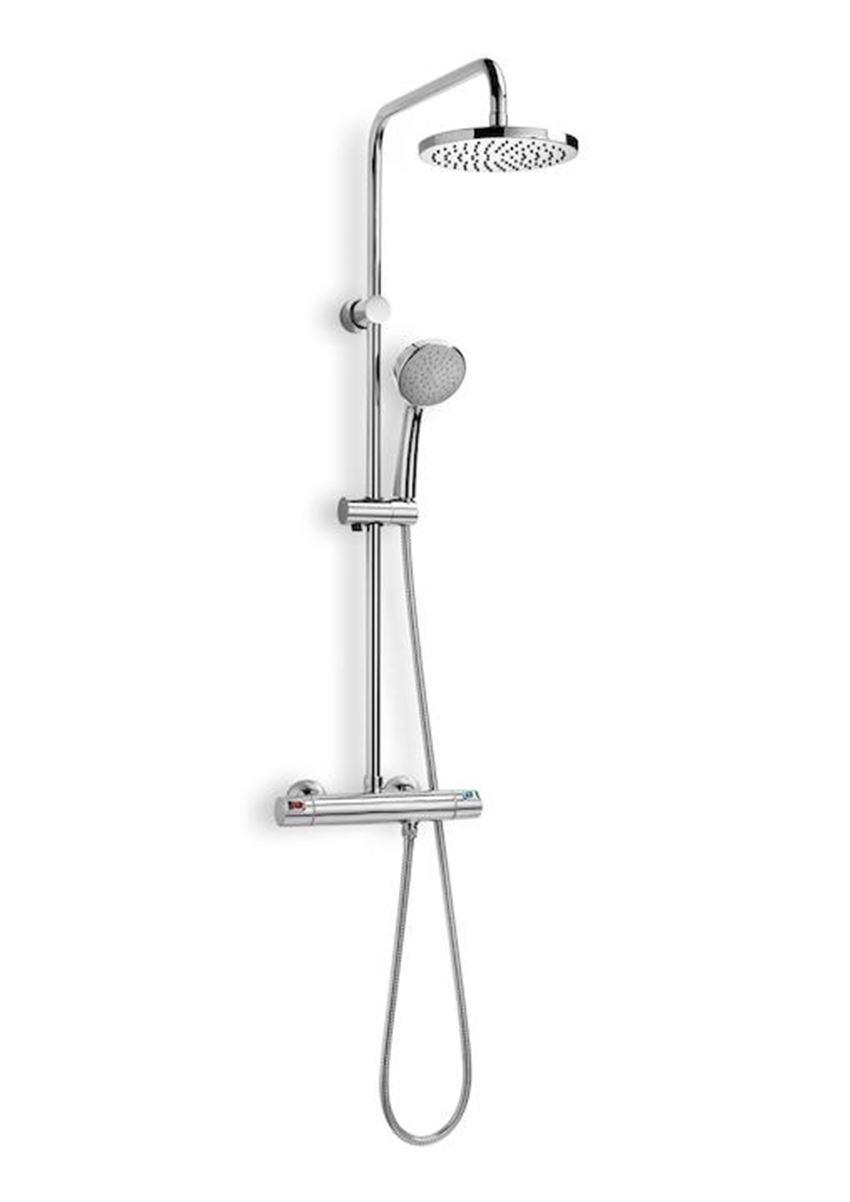 Kolumna prysznicowa z baterią termostatyczną 56,2x98,5 cm Roca Victoria