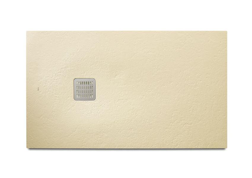 Brodzik kompozytowy STONEX®, 160x100x3,1 cm kremowy Roca Terran