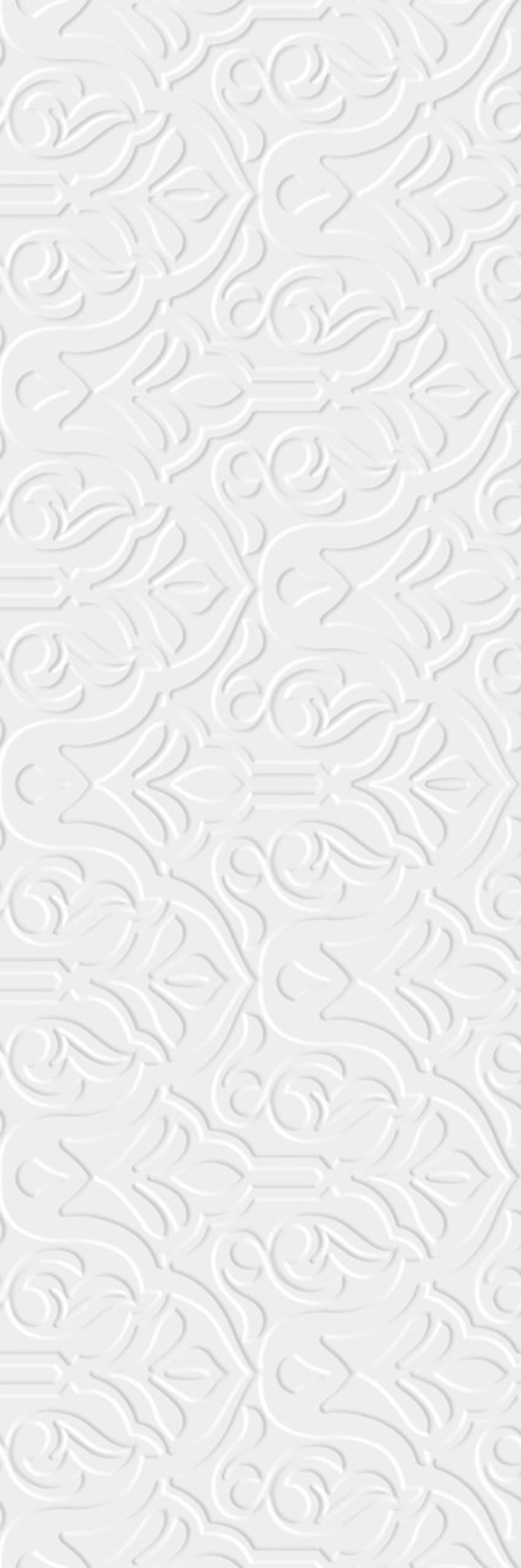 Płytka ścienna 29,8x89,8 cm Paradyż Tel Awiv Bianco Ściana A Struktura Rekt