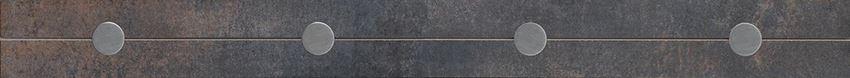 Listwa 5,5x59,8 cm Cersanit Steel black border modern