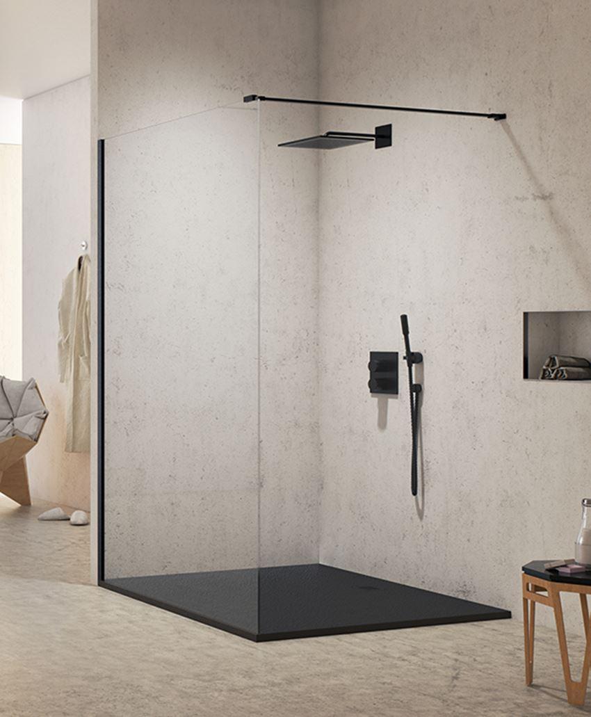 Kabina prysznicowa walk-in New Modus Black