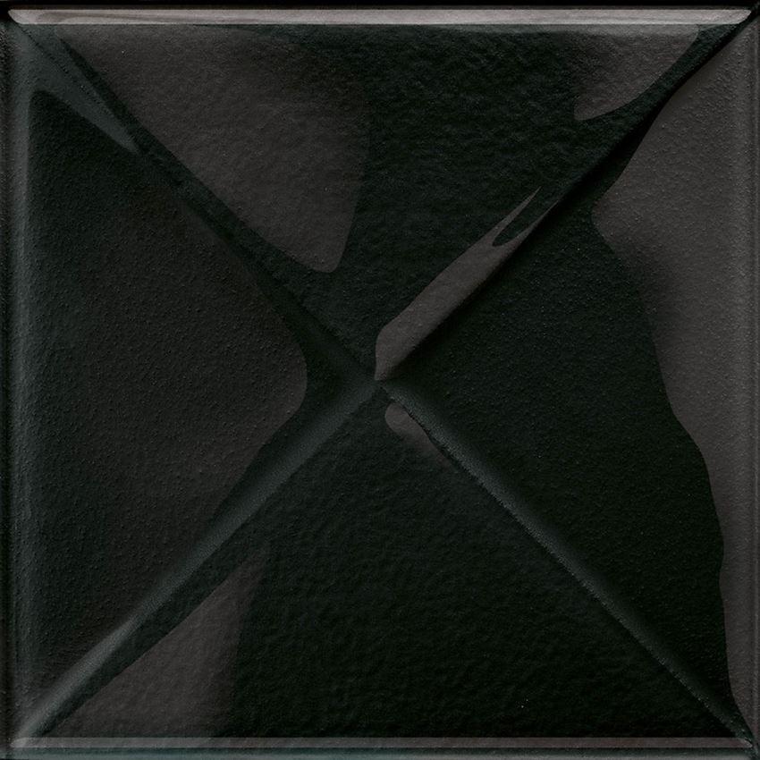 Dekoracja szklana Opoczno Glass Black Inserto New OD660-096