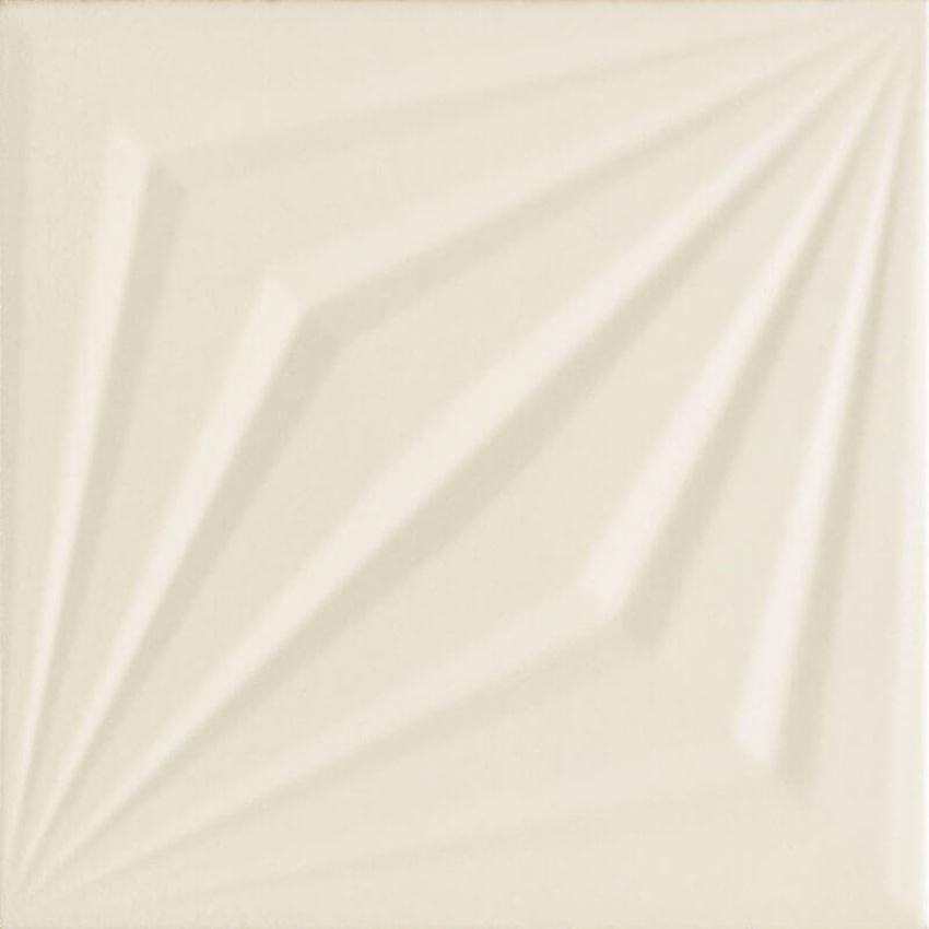 Dekoracja ścienna 19,8x19,8 cmcm Paradyż Urban Colours Perla Inserto Struktura A