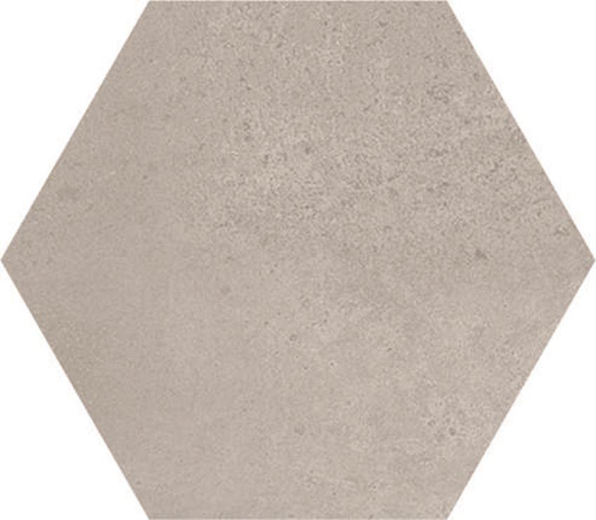Płytka podłogowa hexagonalna, 21,6x24,6 cm Azario Ingma Grey Plain Hexagono