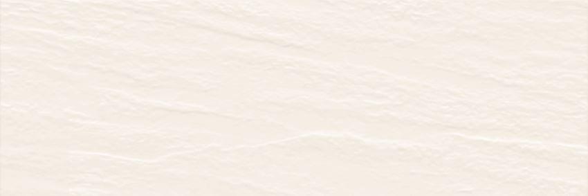 Płytka ścienna 25x75 cm Paradyż Nightwish Bianco Ściana A Struktura Rekt.
