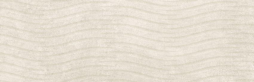 Płytka ścienna 24x74 cm Cersanit Torana cream 3d satin