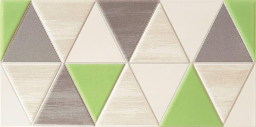 Dekor ścienny 44,8x22,3 cm Domino Tango modern