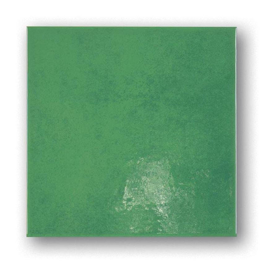 Płytka ścienna zielona Tubądzin Majolika 14