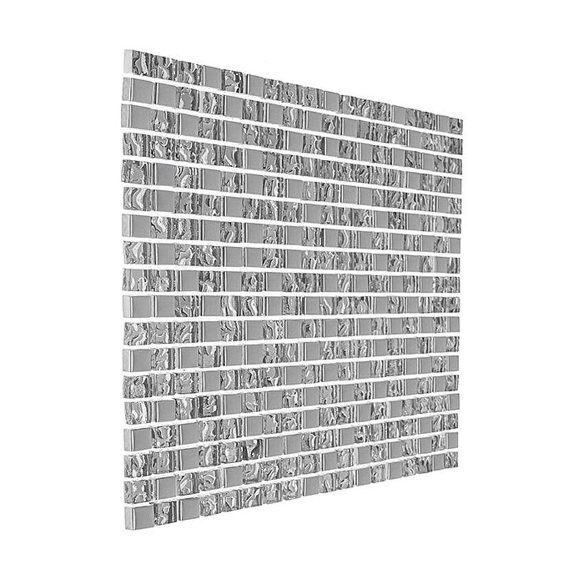 Mozaika 30x30 cm Dunin Glass Mix DD1 Silver Mix 15
