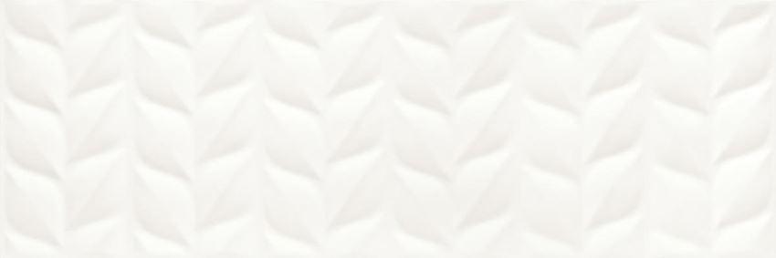 Płytka ścienna 25x75 cm Paradyż Elia Bianco struktura A