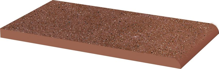Płytka parapetowa 13,5x24,5 cm Paradyż Taurus Brown