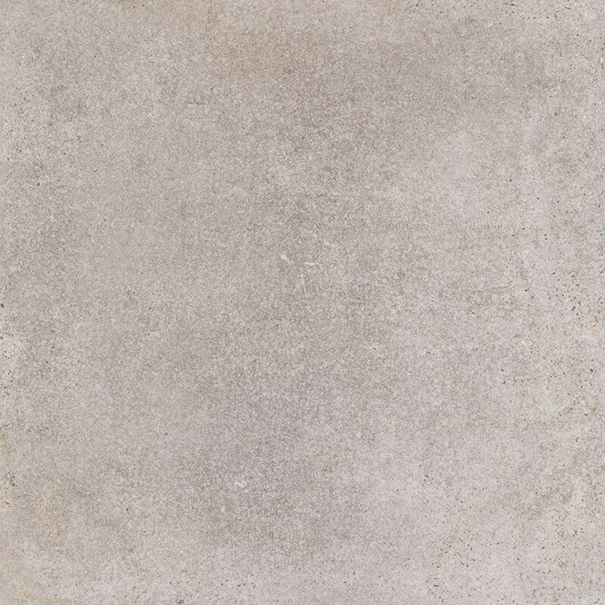 Płytka ścienno-podłogowa 59,8x59,8 cm Paradyż Riversand Grys Gres Szkl. Rekt. Półpoler