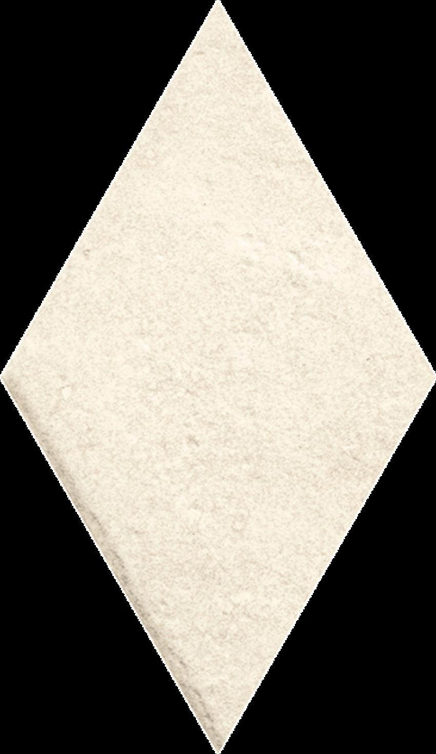 Dekoracja podłogowa 14,6x25,2 cm Paradyż Scandiano Beige Romb