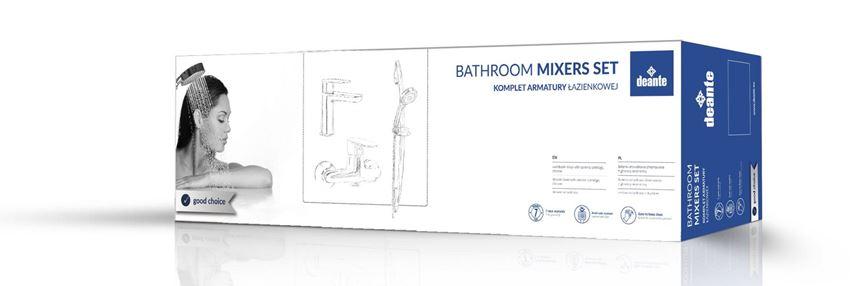 Komplet łazienkowy natryskowy 4w1 Deante Chaber