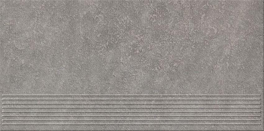 Płytka stopnicowa 29,55x59,4 cm Opoczno Dry River Grey Steptread