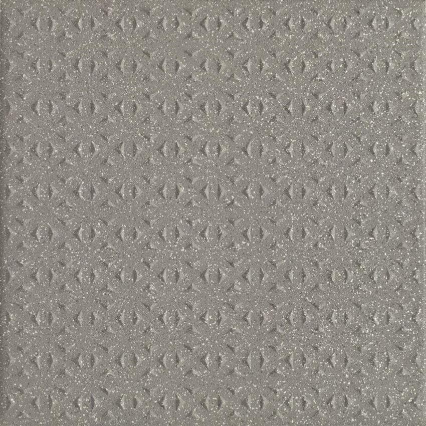 Płytka ścienno-podłogowa 19,8x19,8 cm Paradyż Bazo Grys Gres Sól-Pieprz Struktura