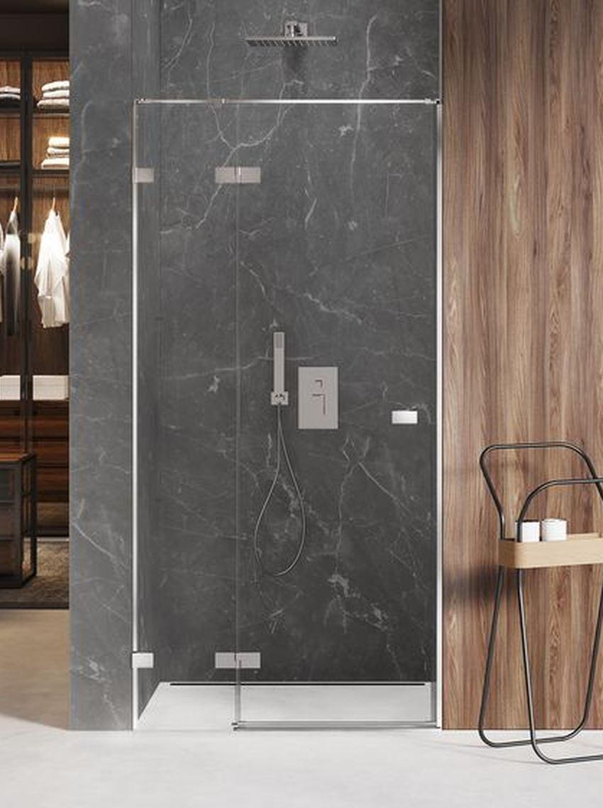 Drzwi prysznicowe uchylne New Trendy Avexa